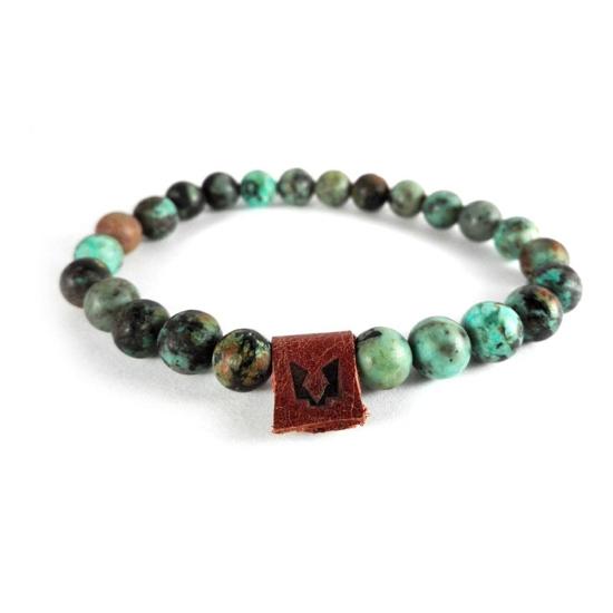 Bild von Stone beads | African green - 8mm