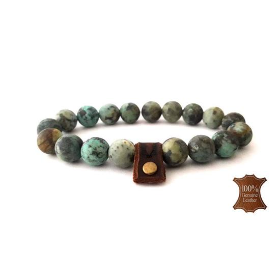 Bild von Stone beads | 10mm African green