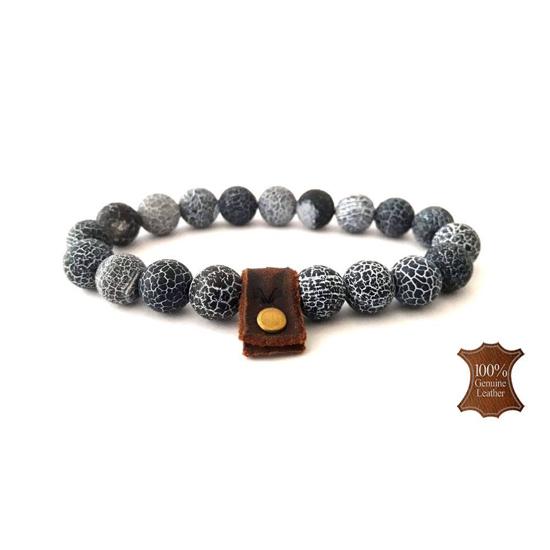 Afbeelding van Stone beads | 10mm Frost