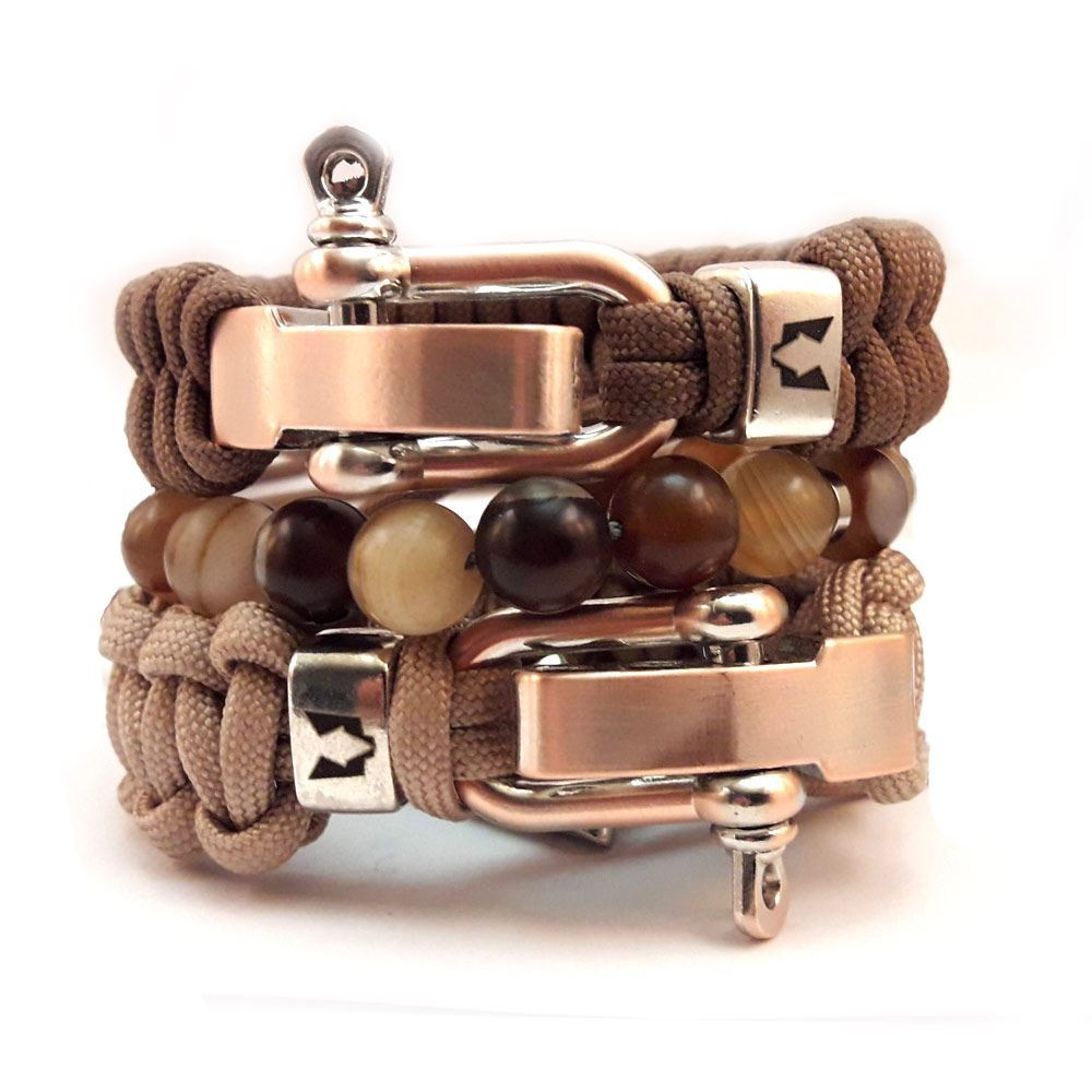 Bild von Bracelet set | Copper Nature