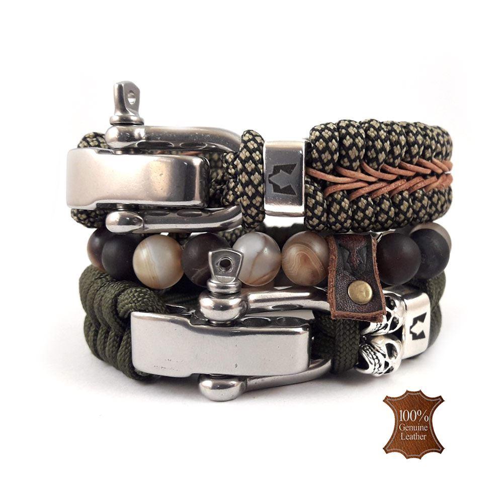 Afbeelding van Bracelet set | RVS Urban set - Silver