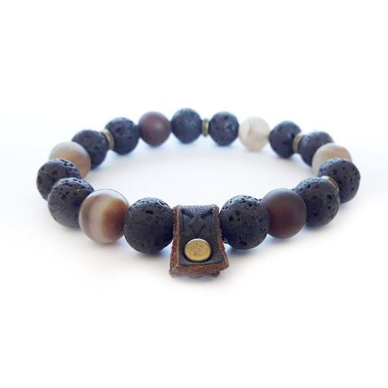 Bild von Stone beads | Earth rule Antique 10mm