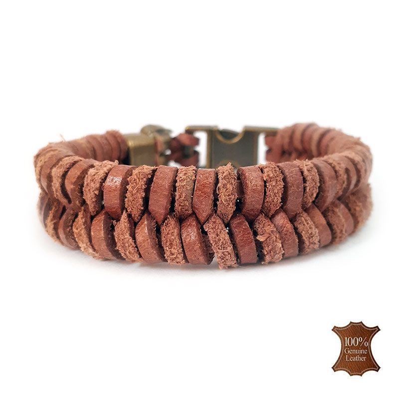 Afbeelding van Wolfs spine | raw leather naturel
