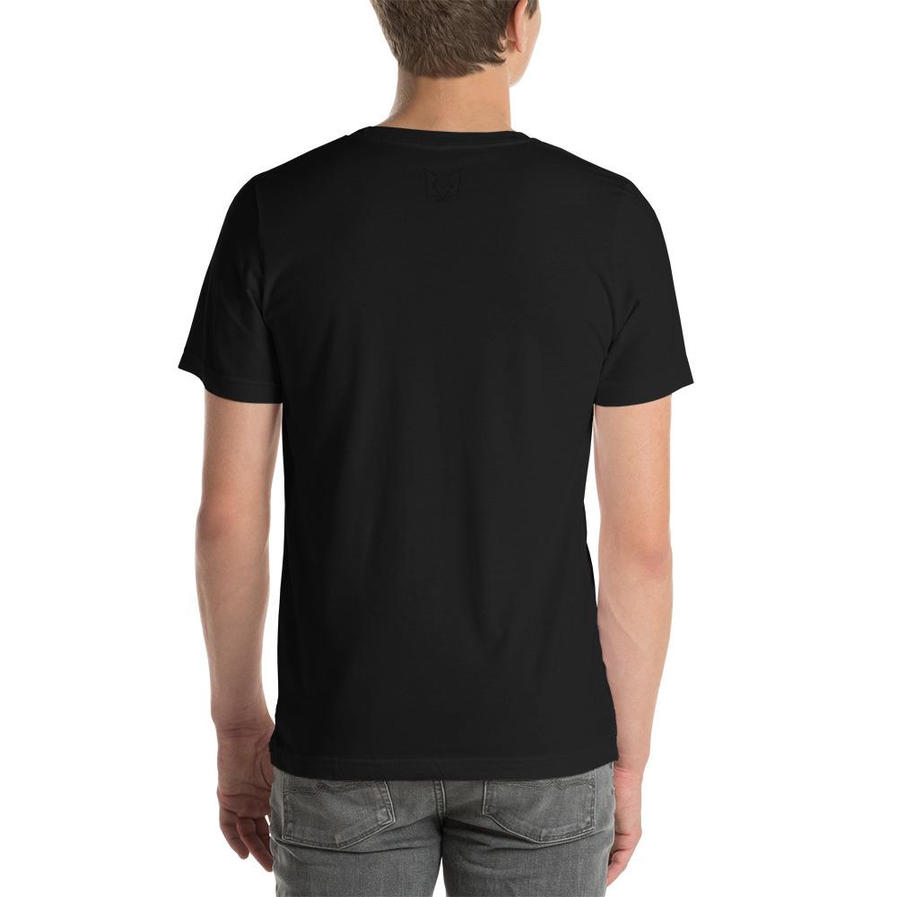 Afbeelding van Twinwulf Outlines unisex shirt Black