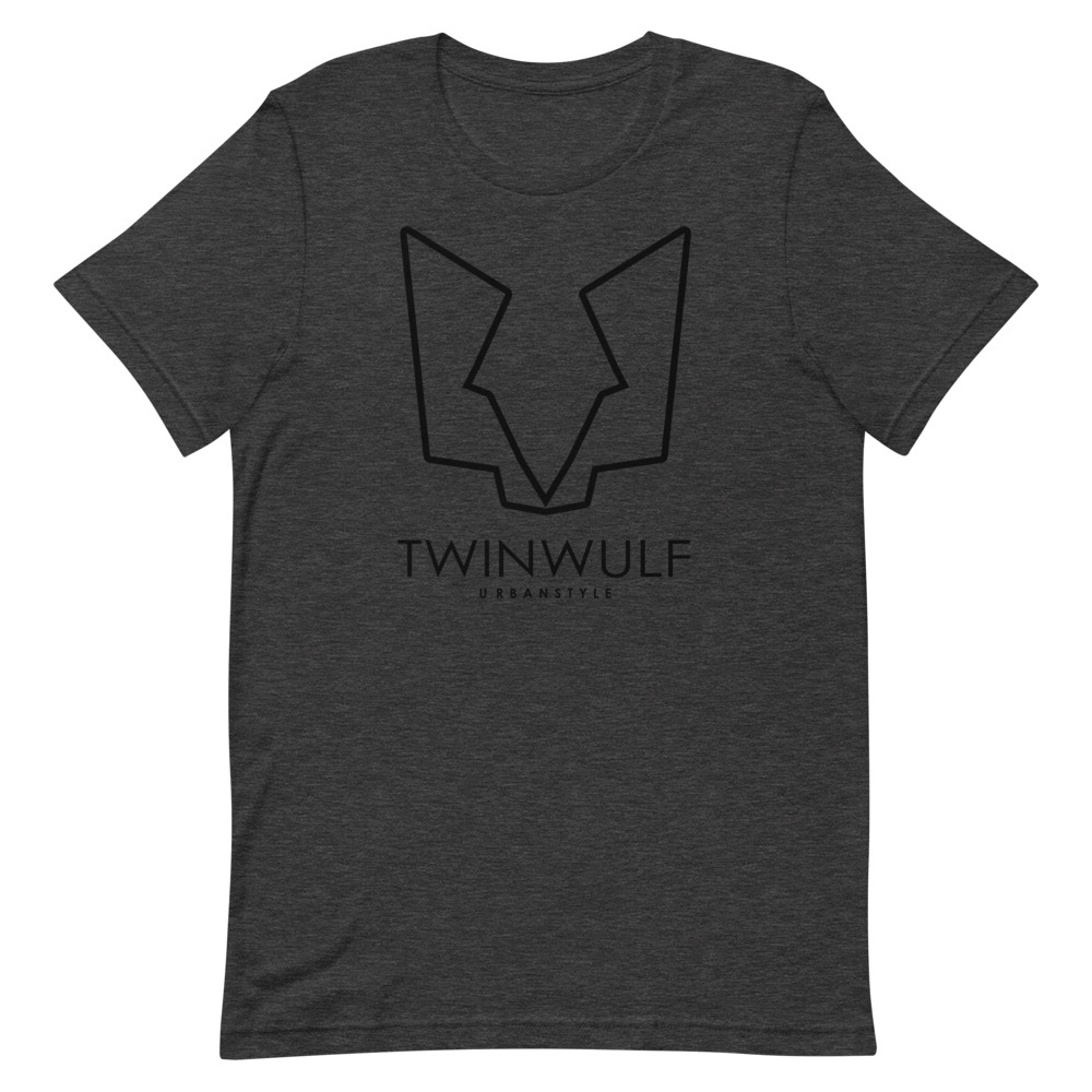 Afbeelding van Twinwulf Outlines unisex shirt grey