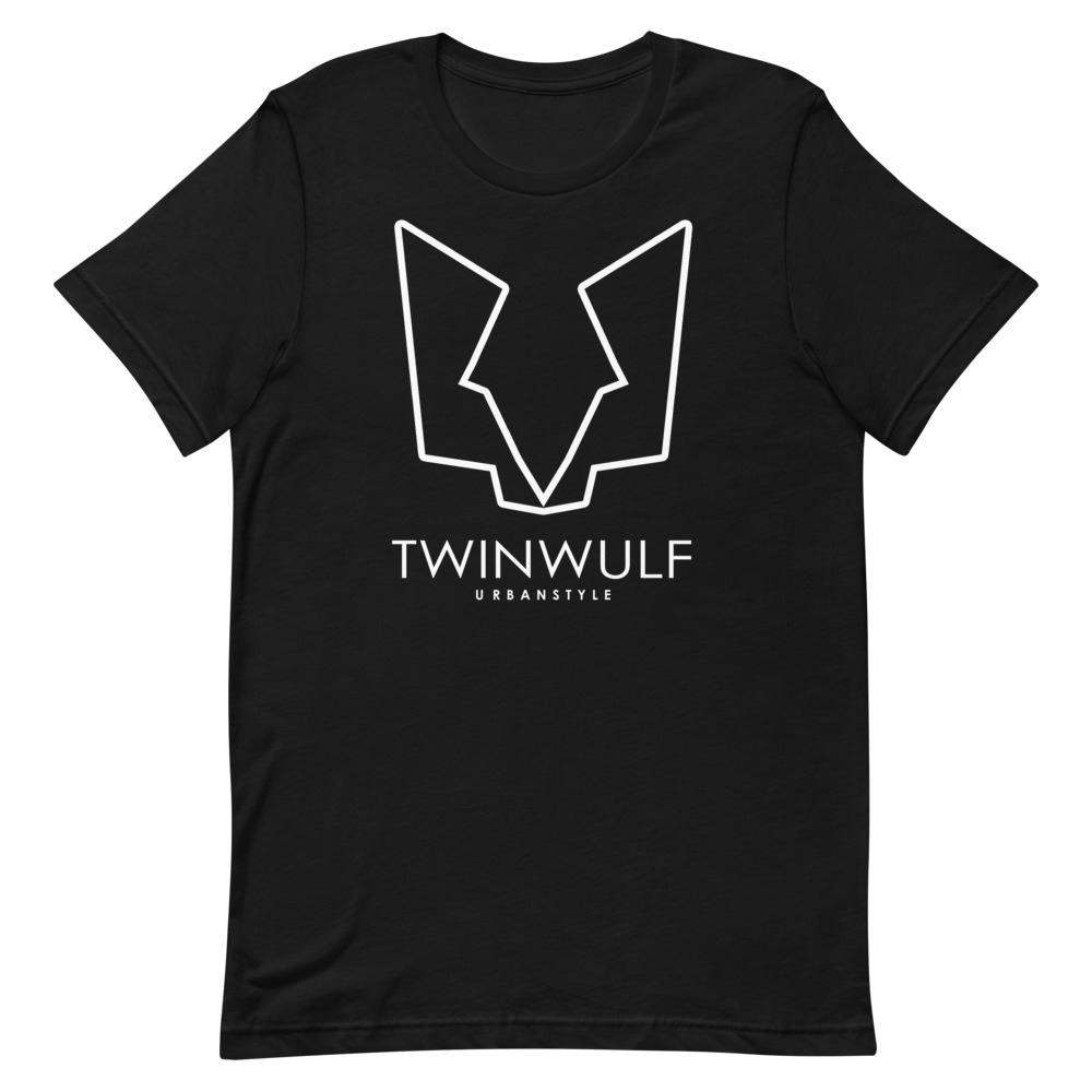 Afbeelding van Twinwulf Outlines unisex shirt black 'n white