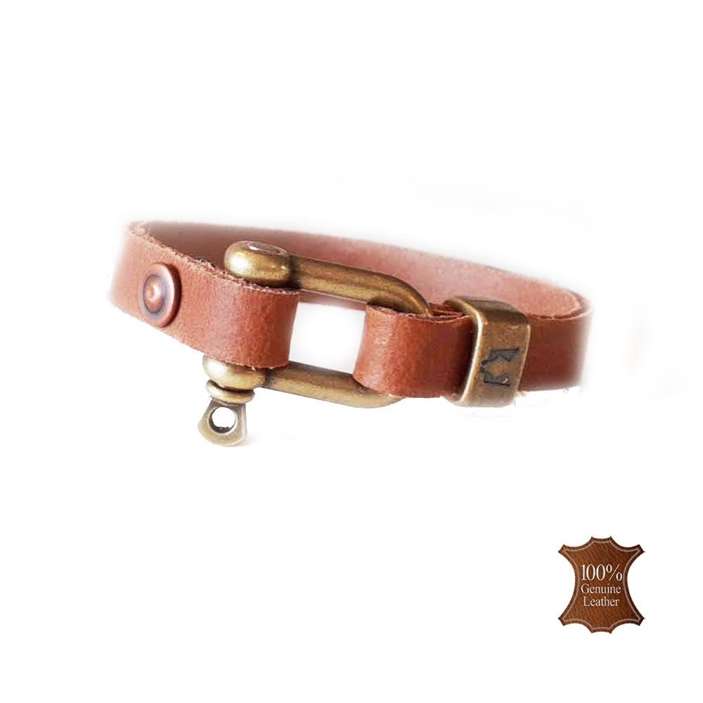 Afbeelding van Wolfs belt | Castor naturel leather
