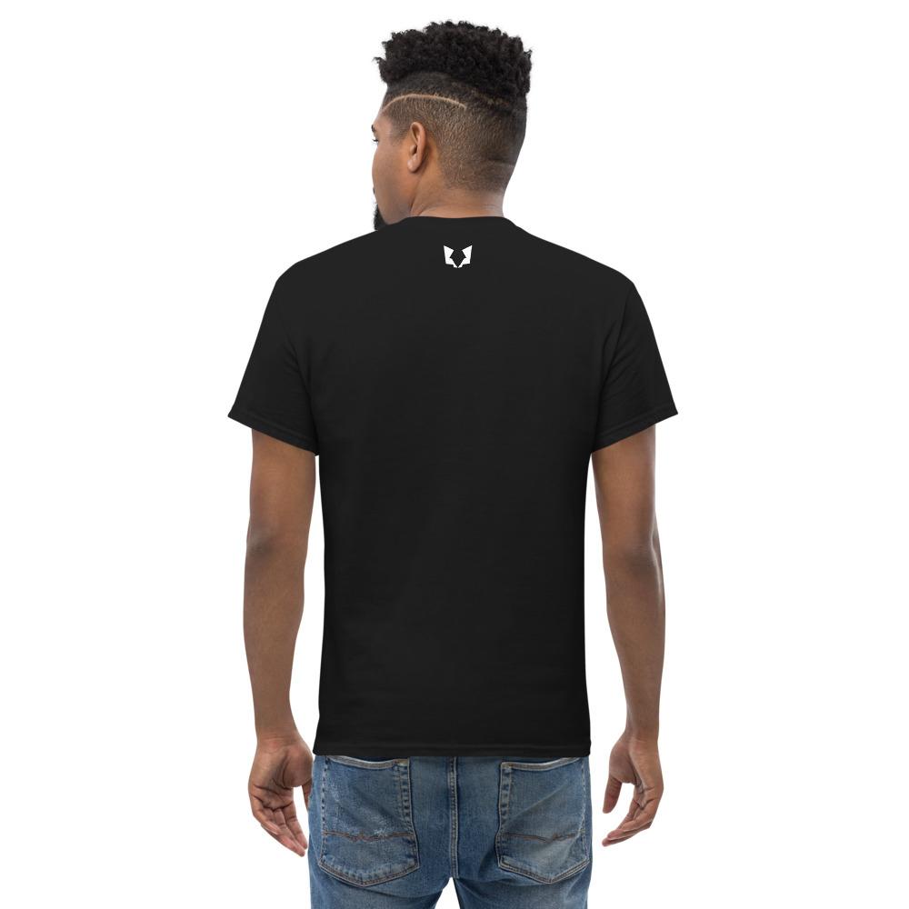 Afbeelding van Twinwulf men T-shirt Black | Wolfsclaw