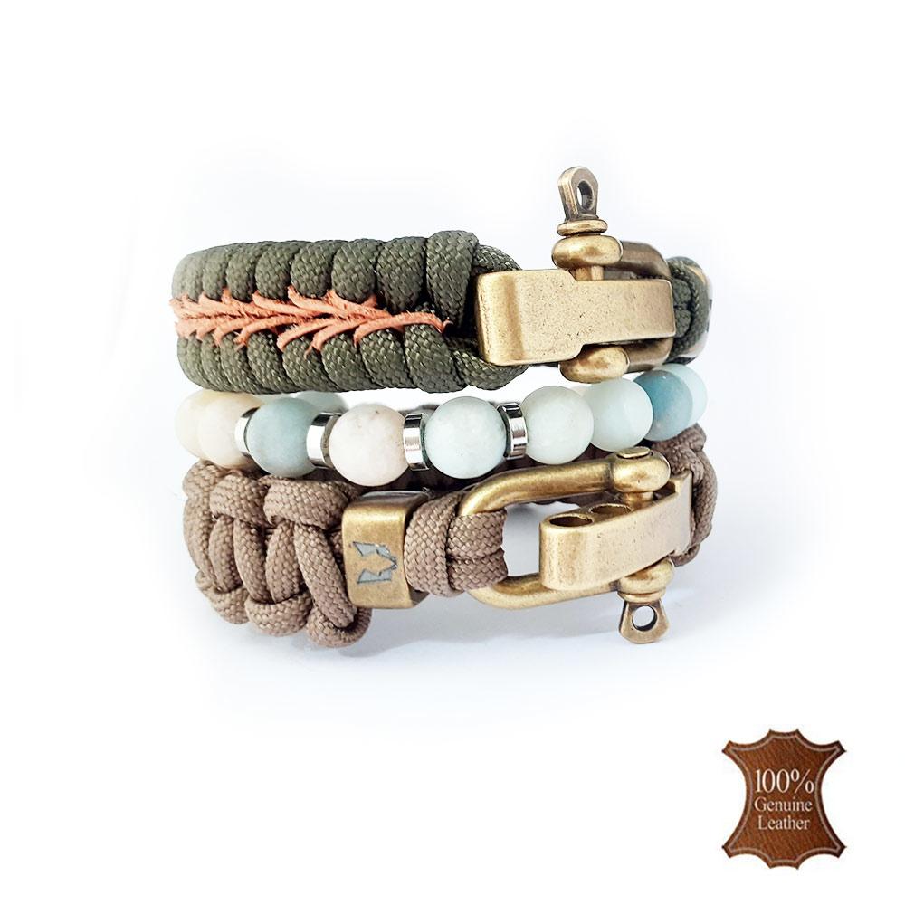 Afbeelding van Bracelet set | Steppenwulf